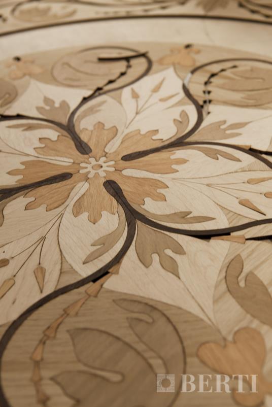 Berti pavimenti legno intarsio lavorazione