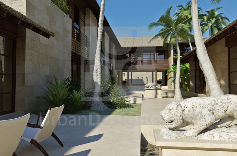 rendering villa jeddah UDG Berti parquet_2