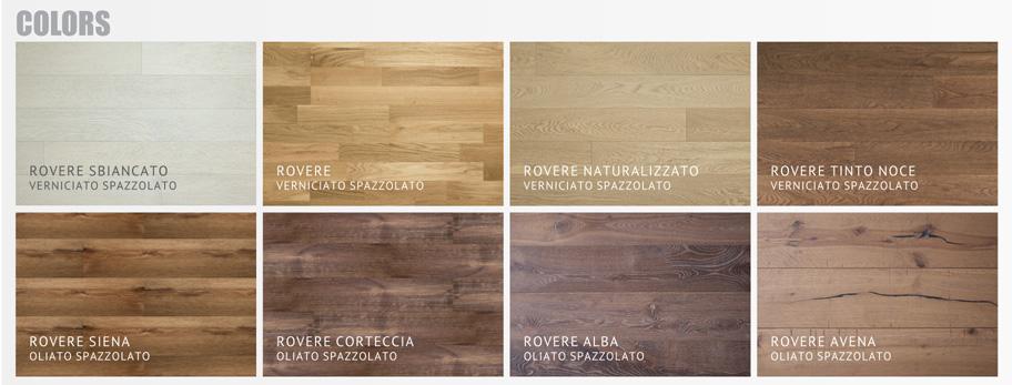 Vepal pavimenti legno: prefinito 3 strati vepal Colors
