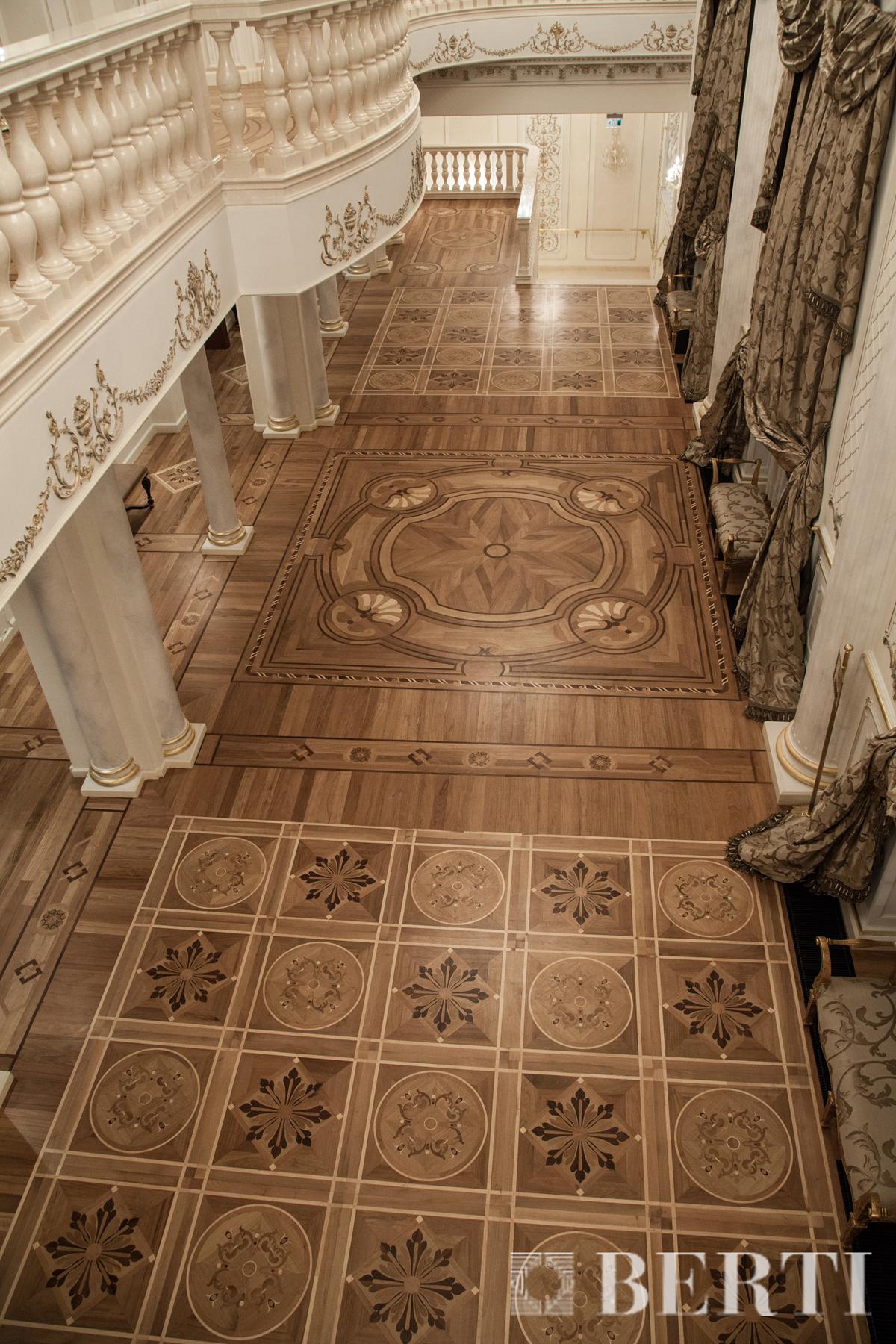 Berti pavimenti legno - National Theatre in Baku