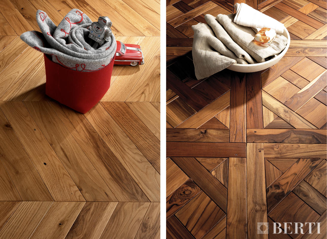 Berti pavimenti parquet geometria di posa