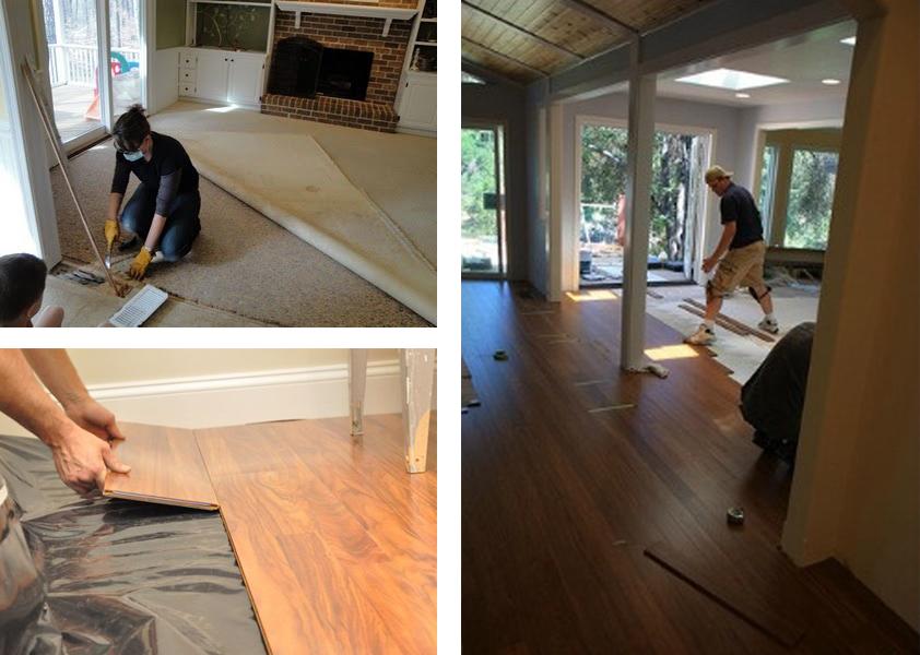 Berti pavimenti legno: posa parquet su pavimento esistente