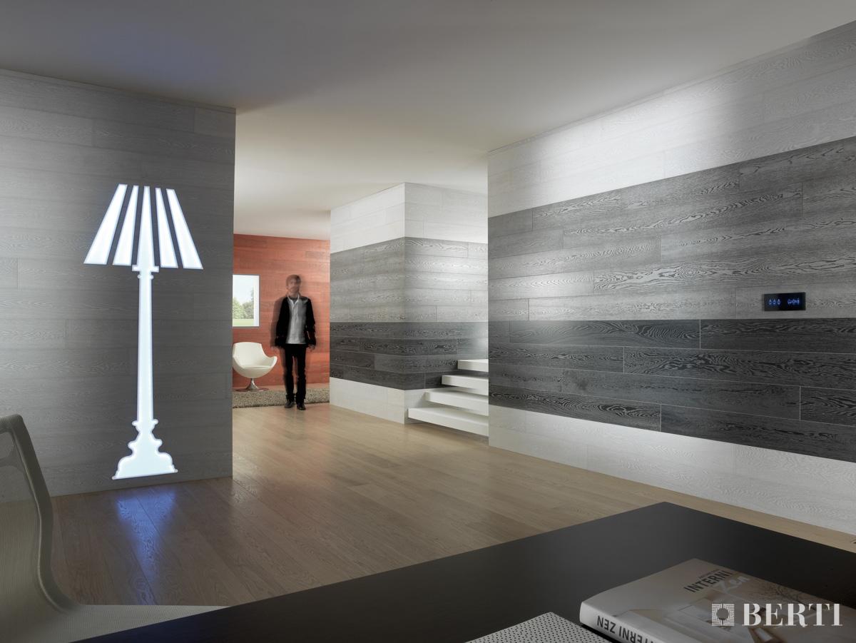 Berti consiglia le boiserie il parquet come rivestimento for Perline in legno per pareti prezzi