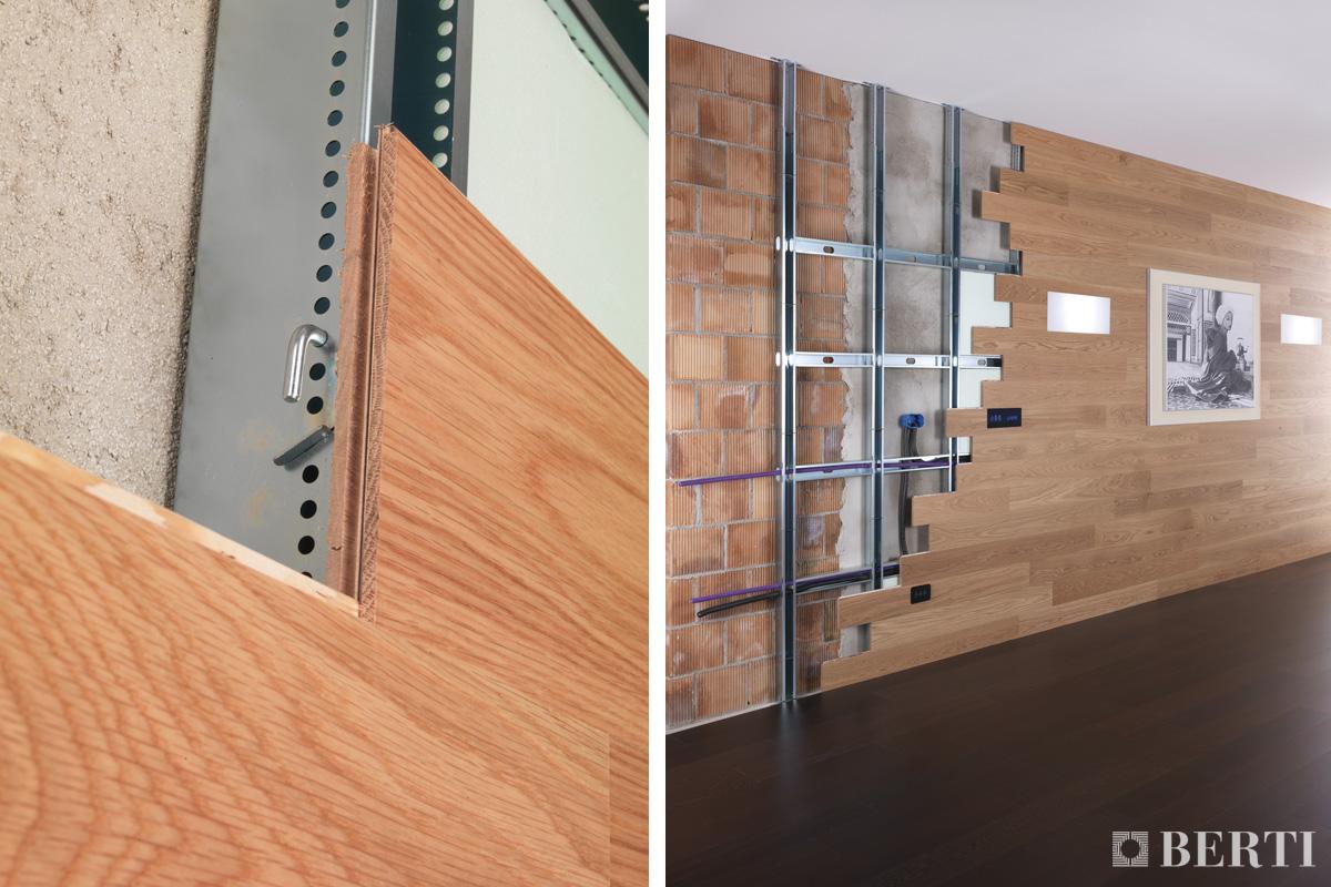 Berti consiglia le boiserie il parquet come rivestimento a parete berti pavimenti in legno - Rivestire parete con legno ...