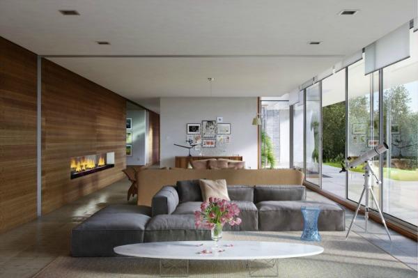 Berti pavimenti legno - rivestimento parete in parquet