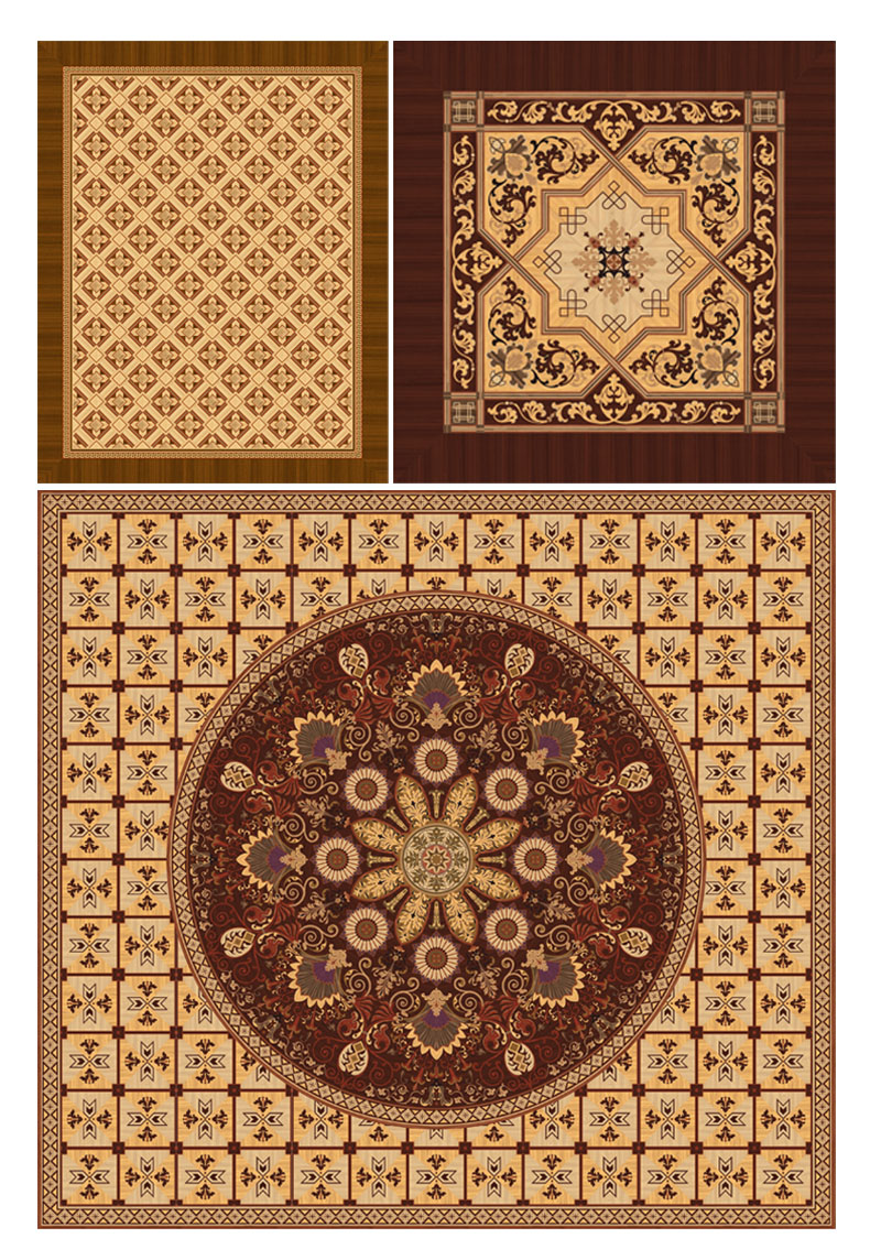 Berti Wooden Floors inlaid decorations for Cina