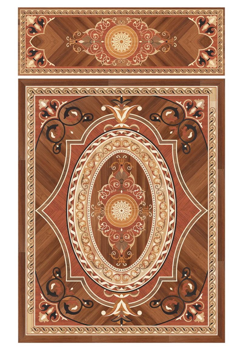 Berti Wooden Floors inlaid decorations